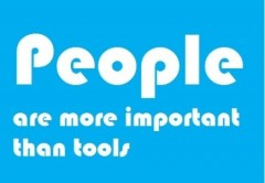 people are more important than tools